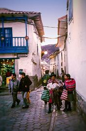Cusco City Street